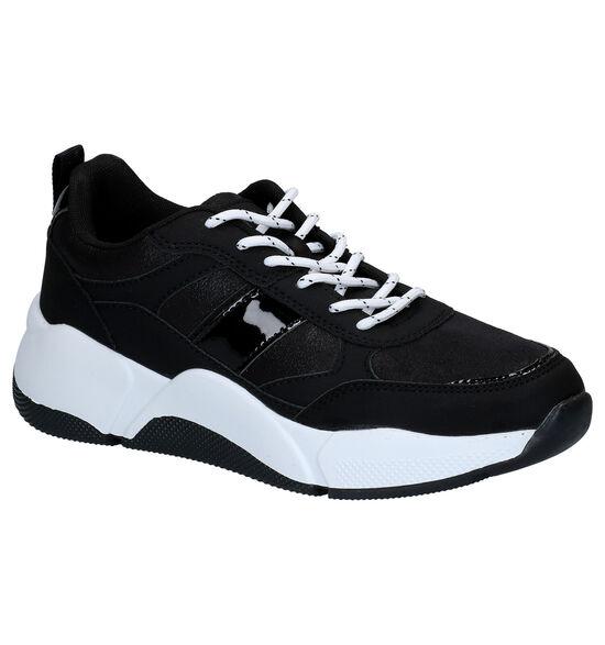 Dazzle Zwarte Sneakers