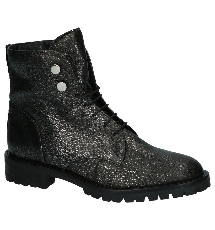 Zwarte Gosh Boots in leer (205617)