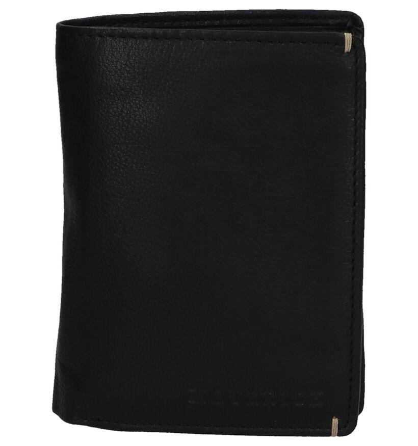 Maverick Zwarte Portefeuille in leer (252777)