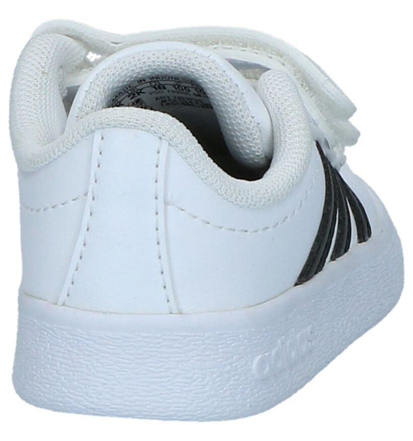 Witte Sneakertjes adidas VL Court 2.0 , Wit, pdp