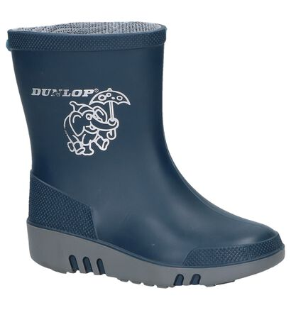 Dunlop Blauwe Regenlaarsjes, Blauw, pdp
