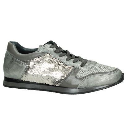 Grijze Sneakers met Slangenprint Hampton Bays by Torfs, Grijs, pdp