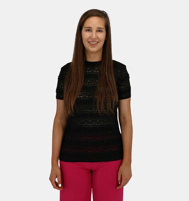 Lofty Manner Zwarte T-shirt Korte Mouwen