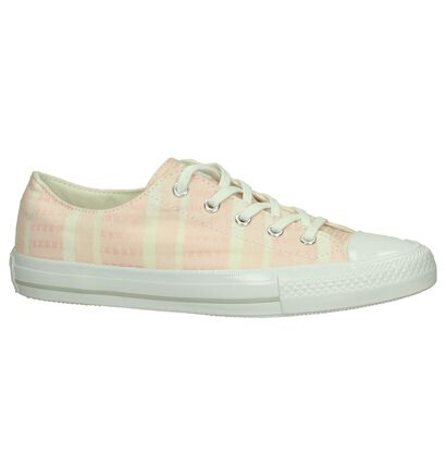 Roze Sneakers Converse Chuck Taylor All Star Gemma in stof (191381)