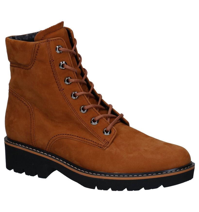 Gabor Optifit Cognac Boots in nubuck (282402)