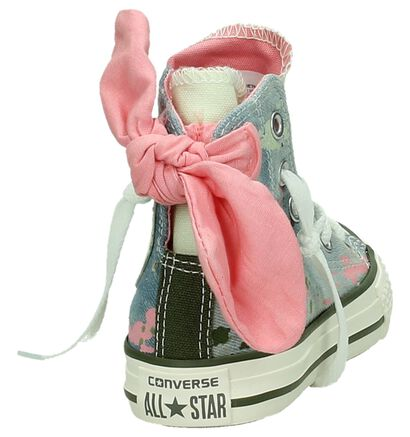 Converse Chuck Taylor AS Bow Back Hi Blauwe Sneakers, Blauw, pdp