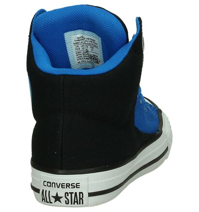 Converse Chuck Taylor All Star High Street Blauwe Sneakers in stof (191263)