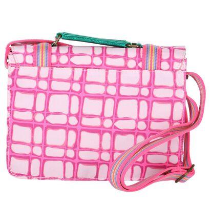Roze Boekentasje Le Big Athens Bag , Roze, pdp
