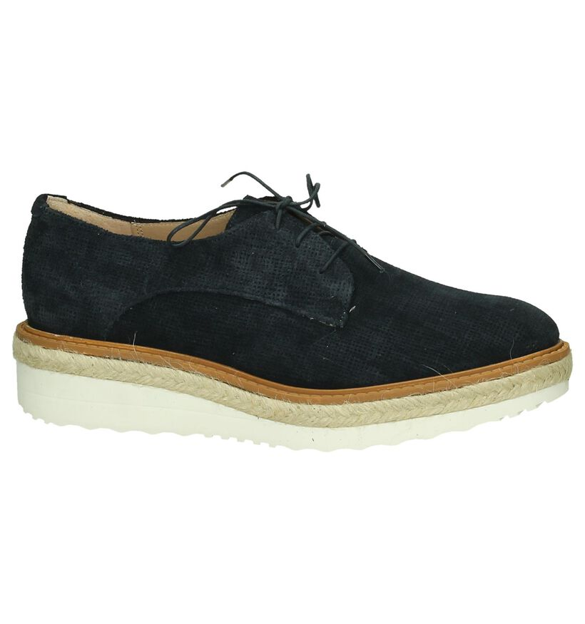 Donker Blauwe Veterschoen Hampton Bays by Torfs in nubuck (190599)