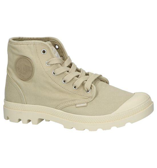 Beige Boots Palladium Pampa Hi