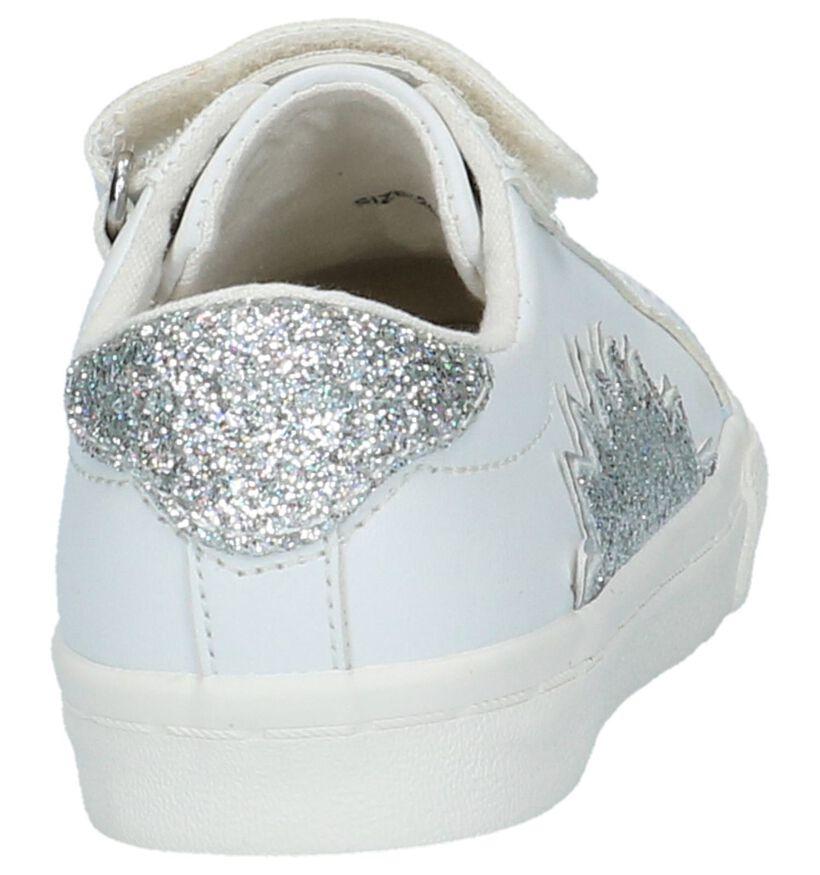 Schoenen met Klittenband Wit Little David in kunstleer (217960)