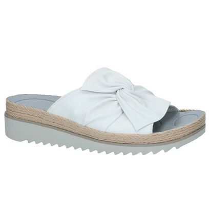 Comfortabele Slippers Zilver Gabor Best Fitting, Wit, pdp
