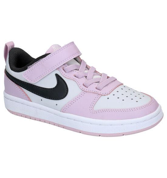 Nike Court Borough Roze Sneakers
