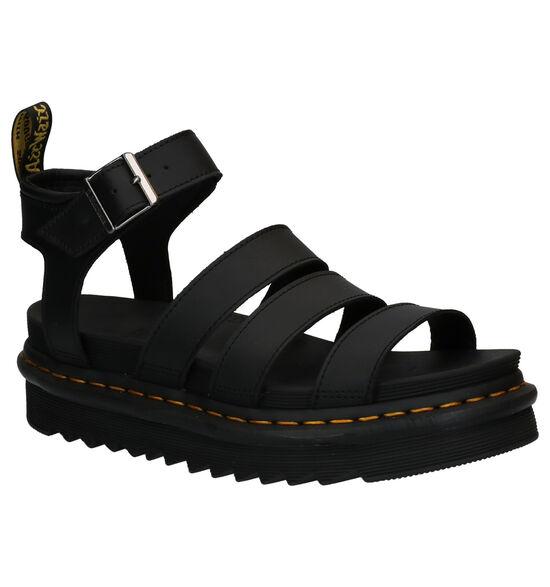 Dr. Martens Blaire Zwarte Sandalen