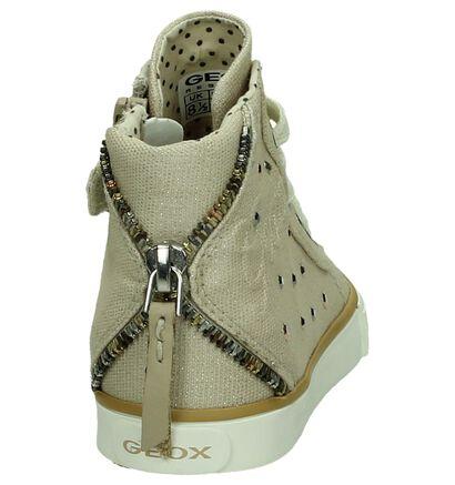 Hoge Sneakers Blauw Geox in stof (170557)
