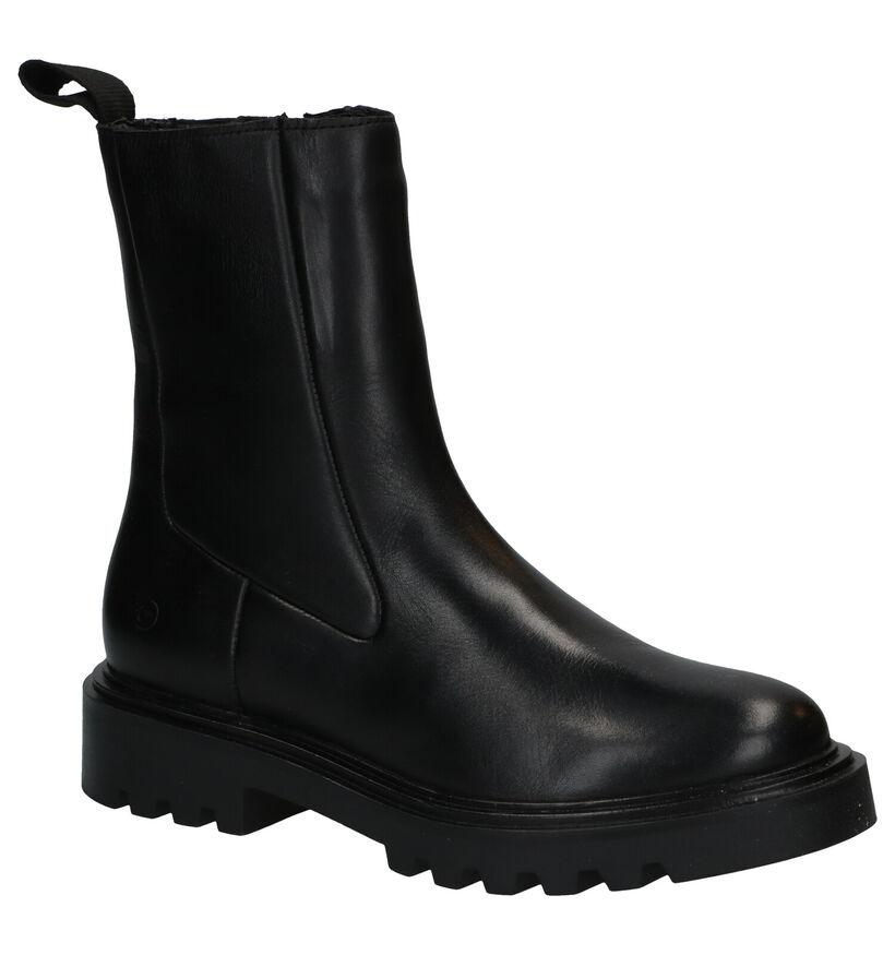 Tamaris Zwarte Boots in leer (286037)