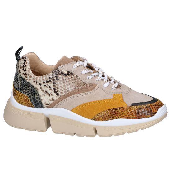 Beige Sneakers Deabused