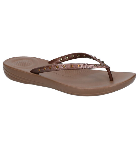 FitFlop iQUSHION Bruine Teenslippers