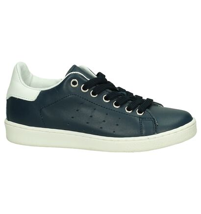 Hampton Bays by Torfs Blauwe Sneakers in leer (189350)
