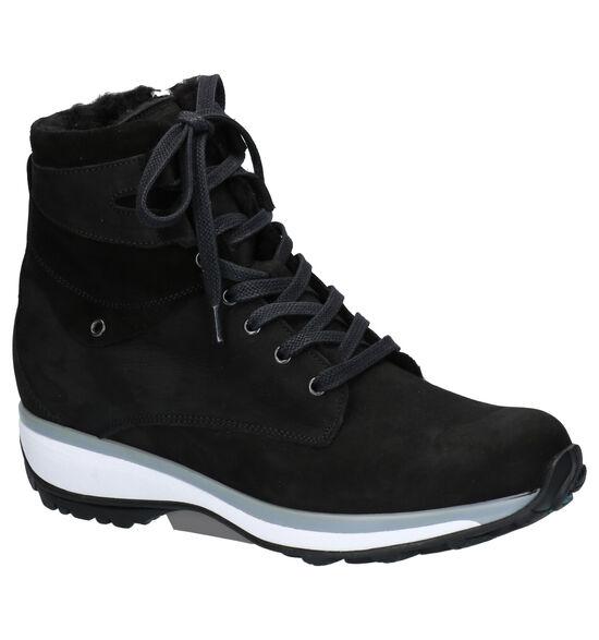 Xsensible Montreal Sneakers Zwart
