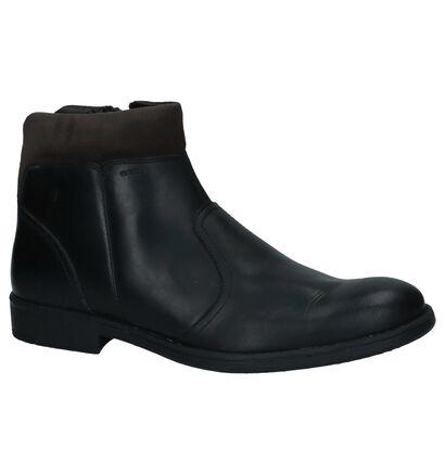 Zwarte Geklede Boots Geox, Zwart, pdp