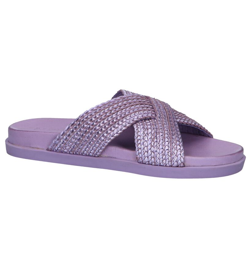 Rode Slippers Inuovo in leer (250987)