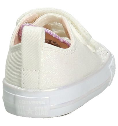 Paarse Babysneakers Converse Star Player 2V OX , Beige, pdp