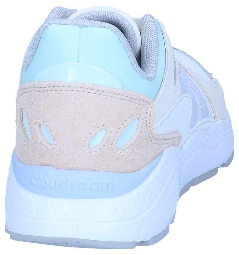 Ecru Sneakers adidas Chaos in daim (243162)