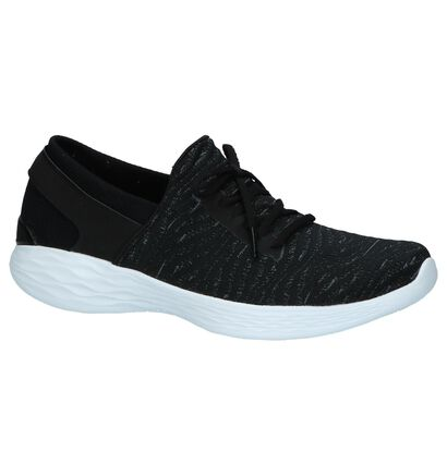YOU by Skechers Zwarte Lage Sneakers, Zwart, pdp