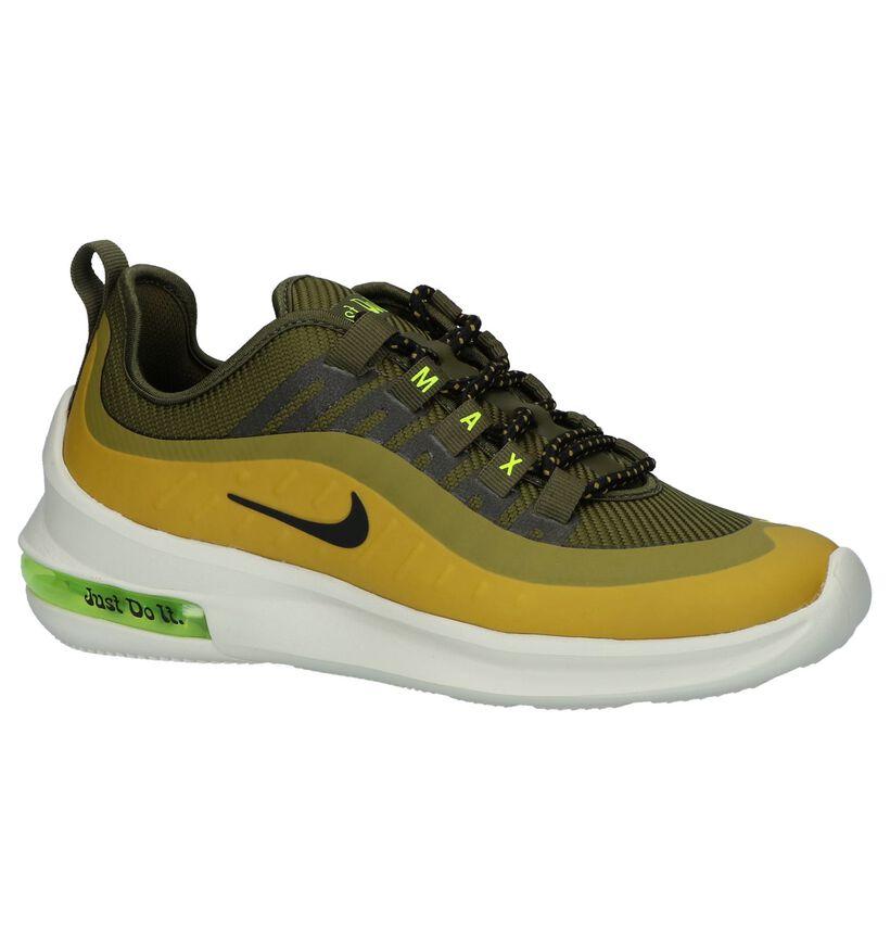Groen/Gele Sneakers Nike Air Max in stof (234089)