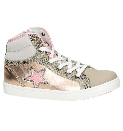Roze Kanjers Hoge Sneakers, Groen, pdp