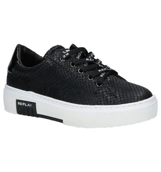 Replay Ginko Zwarte Sneakers