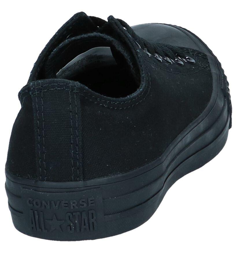 Converse All Star OX Zwarte Sneakers in stof (266504)