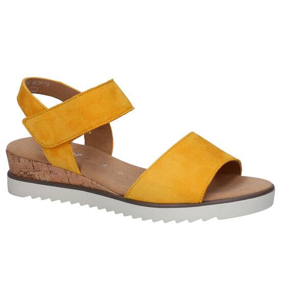 Gabor Comfort Gele Sandalen