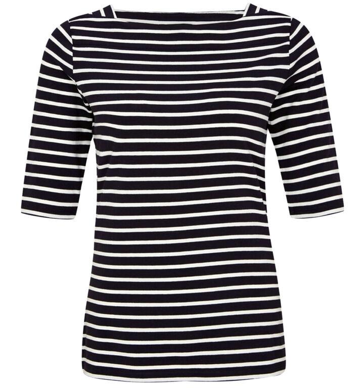 comma Blauwe T-shirt