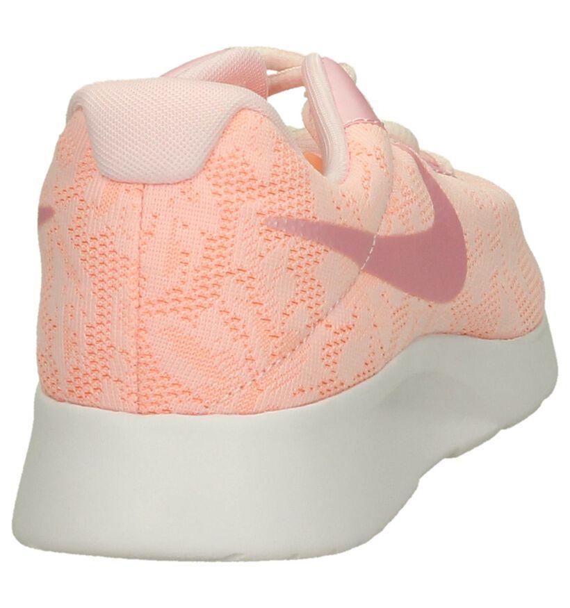Roze Sneaker Runner Nike Tanjun in stof (198259)