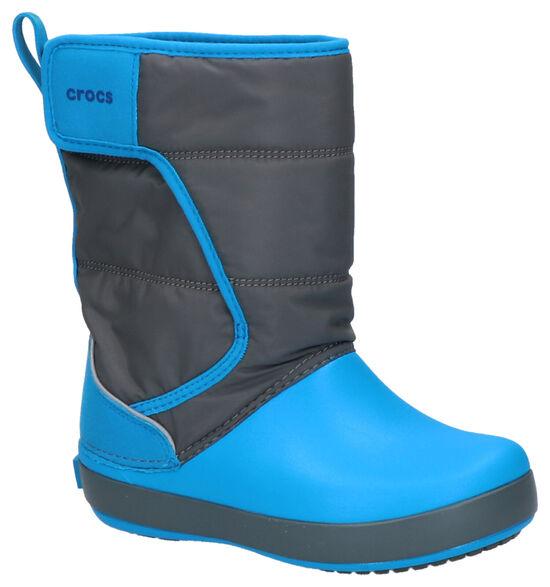 Crocs Lodgepoint Blauwe Snowboots