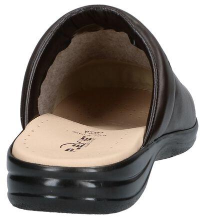 Flexi's Zwarte Pantoffels, Bruin, pdp