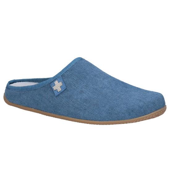 Living Kitzbühel Blauwe Pantoffels