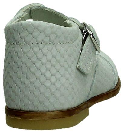M Kids Witte Babyschoen met Slangenprint , Wit, pdp