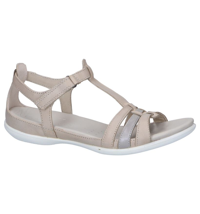 Ecco Flash Zwarte Sandalen in leer (269694)