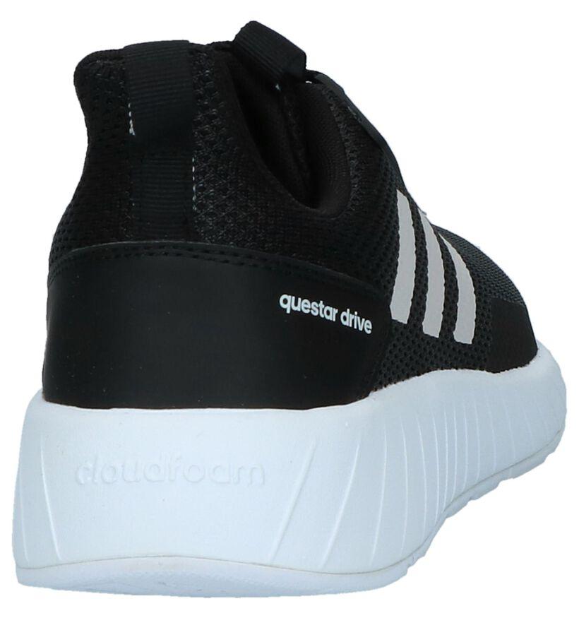 adidas Questar Drive Zwarte Sneakers in stof (221783)