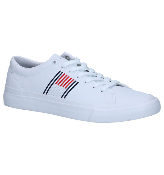 Tommy Hilfiger Corporate Witte Sneakers
