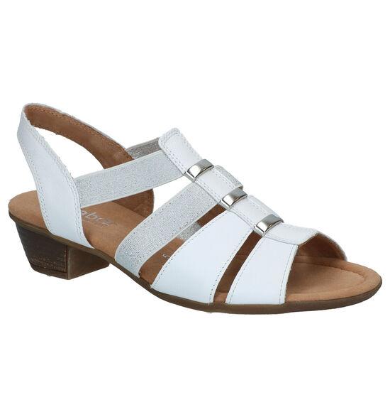 Gabor Witte Sandalen