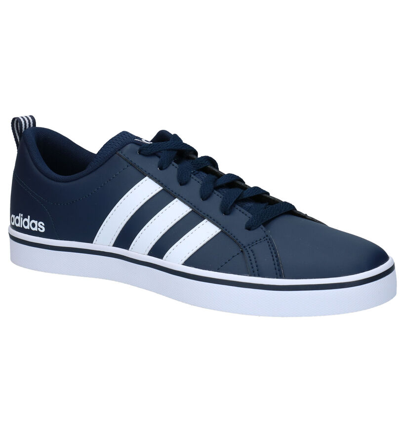 adidas VS Pace Blauwe Sneakers in kunstleer (284844)