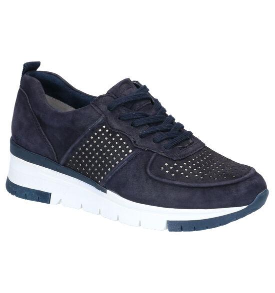 Tamaris Pure Relax Blauwe Sneakers