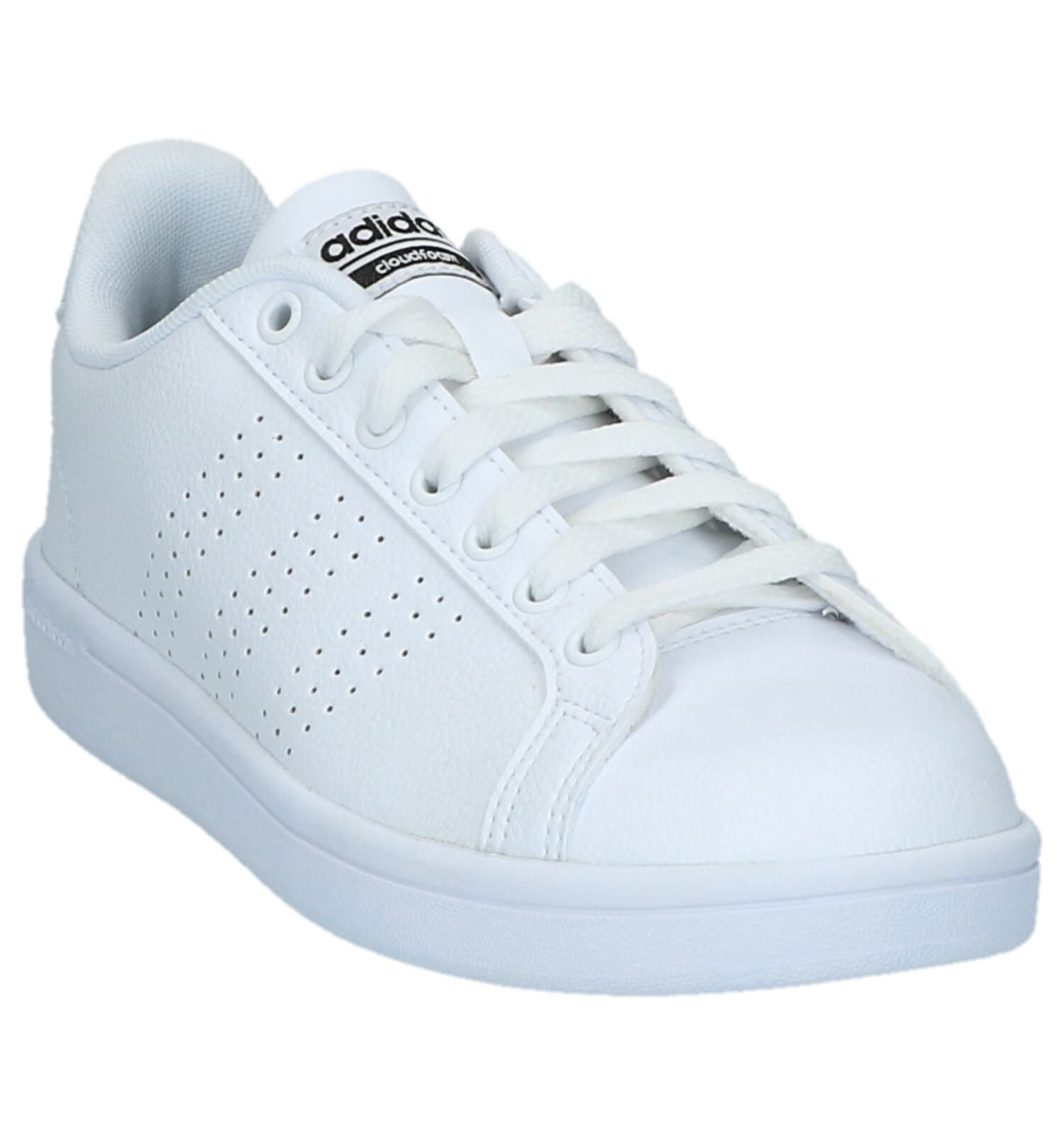 adidas Advantage CL W Sneakers Wit