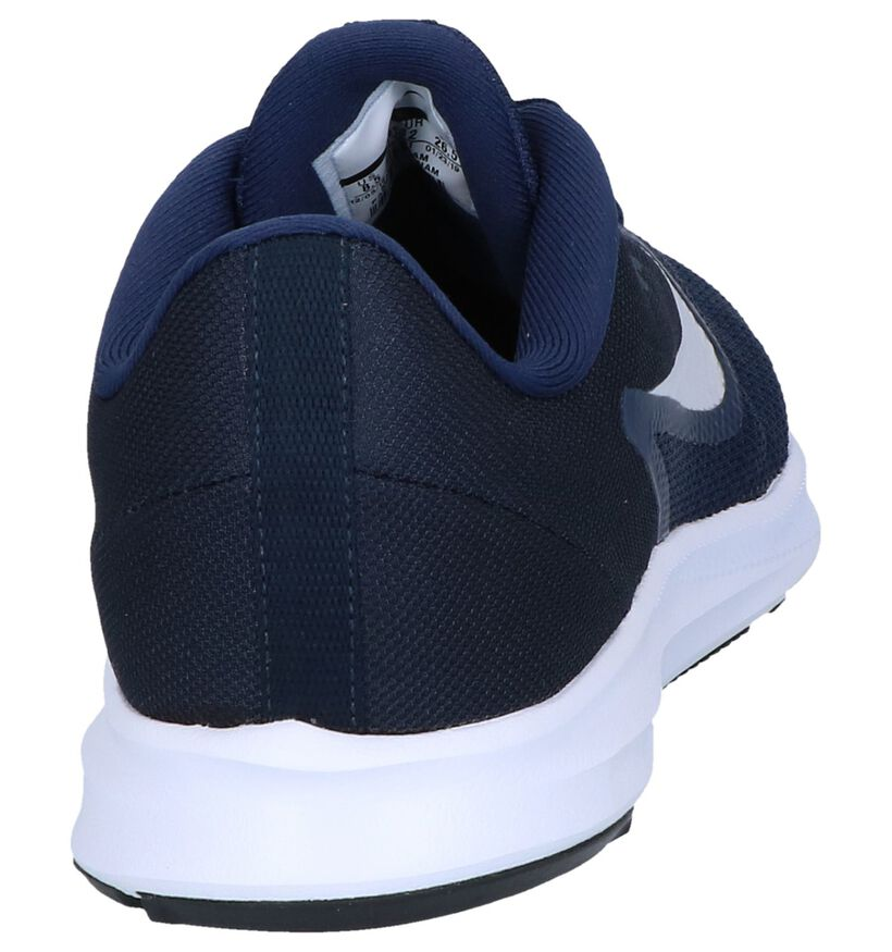 Nike Downshifter 9 Rode Sneakers in stof (254041)