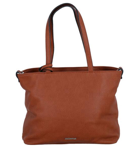 Emily & Noah Cognac Bag in bag Handtas