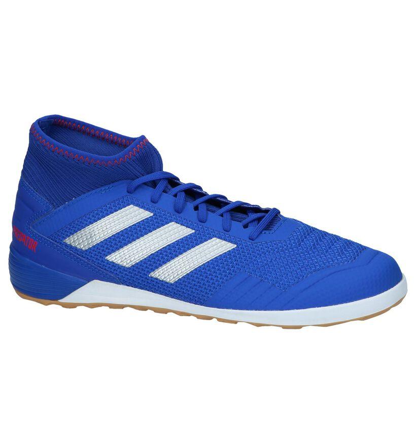 Blauwe Sportschoenen adidas Predator 19.3 IN in kunstleer (237623)